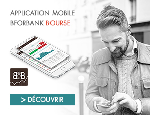 L'application mobile Bourse de BforBank
