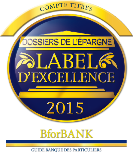Label d'excellence 2015 Bourse